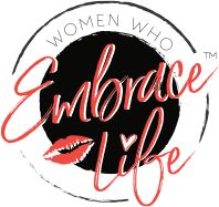 Woman Who Embrace Life Logo